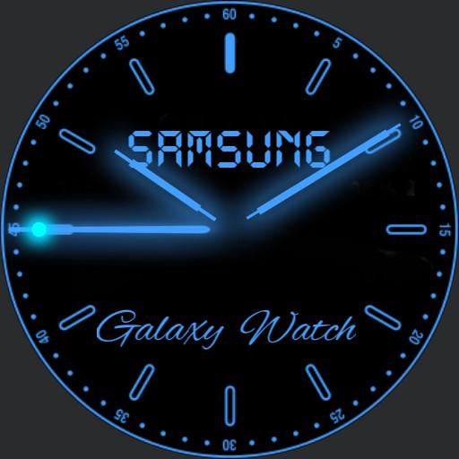 Neon Blue GLOW Battery Safer