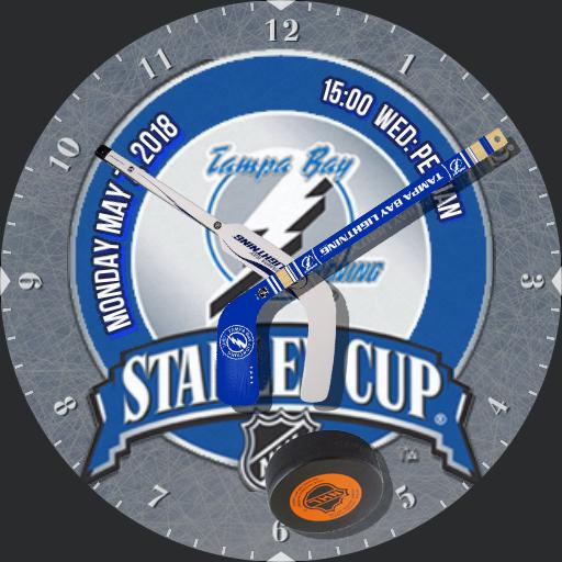 Hockey Theme - Tampa Bay Lightning - Stanley Cup - Round