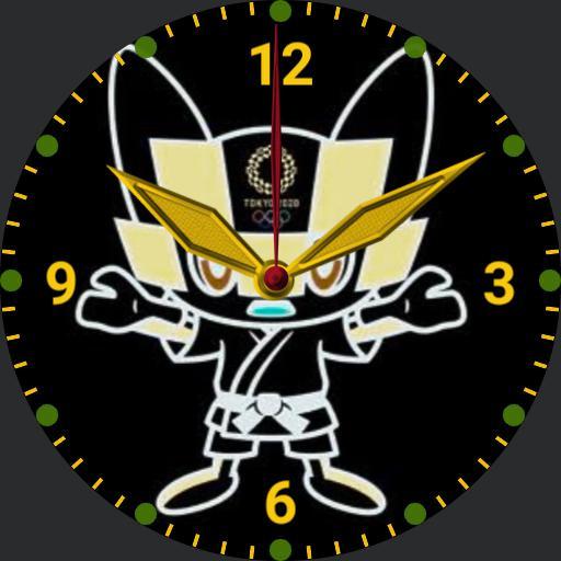 olympics 2020 judo mascot