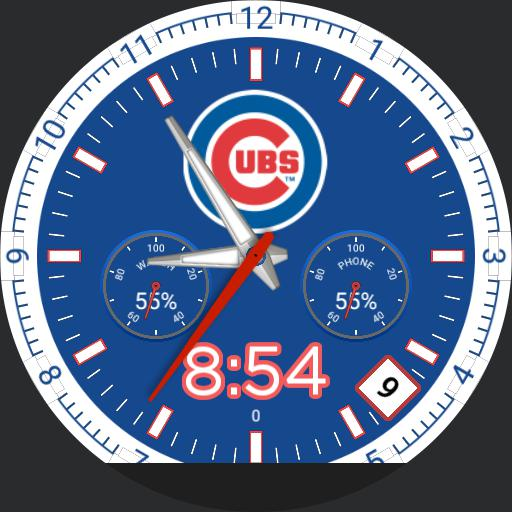 Chicago Cubs - Digital mossy