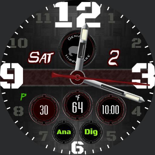 Multi-Watch AnaDig - Genuine HippoWare