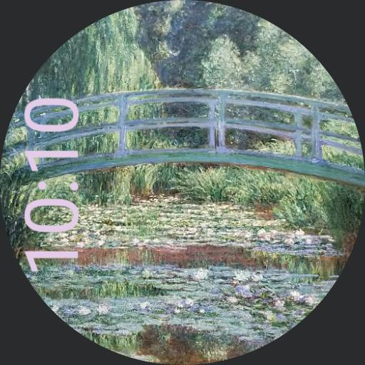 Japanese Footbridge Monet