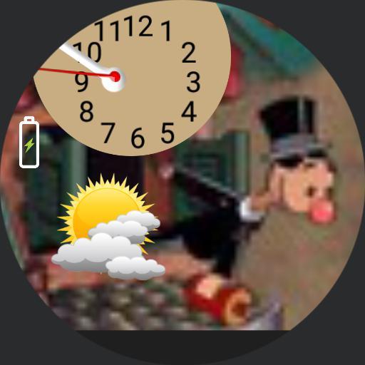 Clown Clock