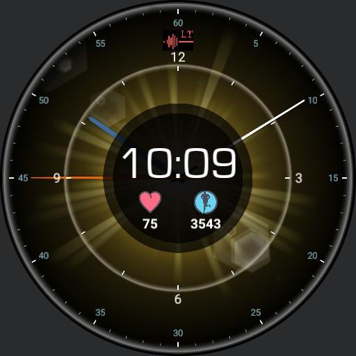 LT Clock Sun
