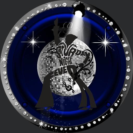 Saturday Night Fever  blue mit Sound