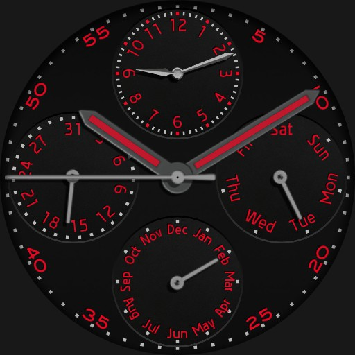 Ucolor Dual Time Calendar Regulator