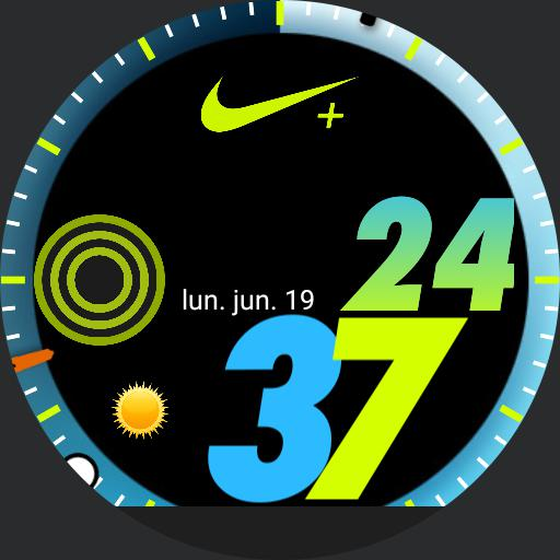 Nike  Apple watch blue
