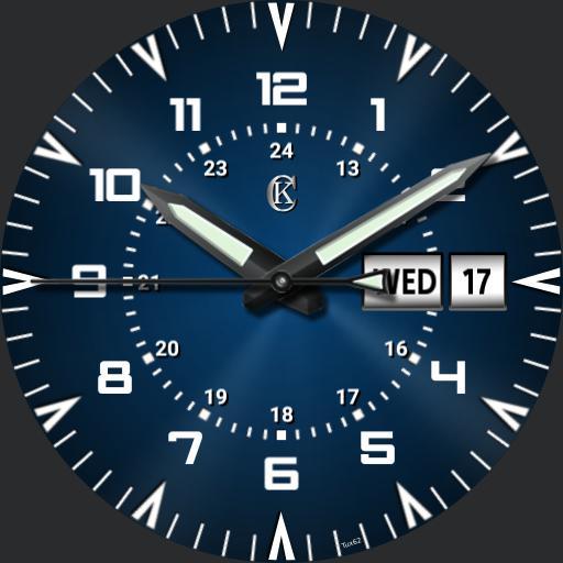 sport watch. green lume v2