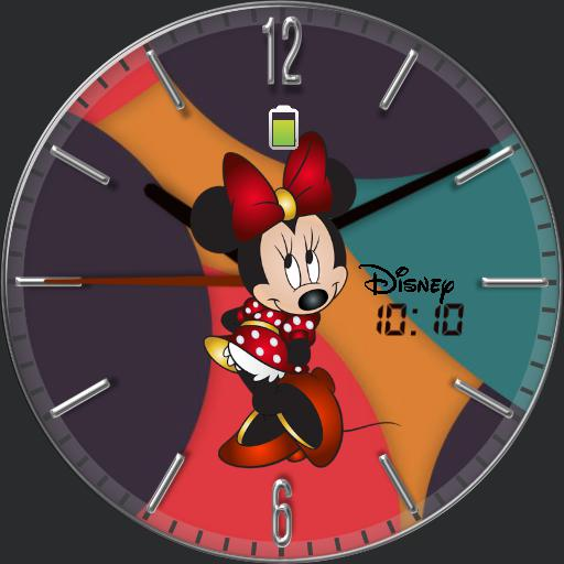 Minnie mouse colorful