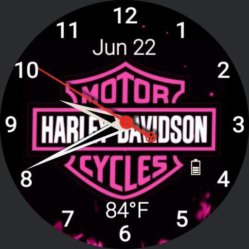 Harley Davidson Pink 2