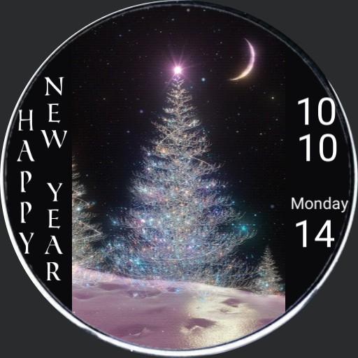 New Year Christmas Tree 2020
