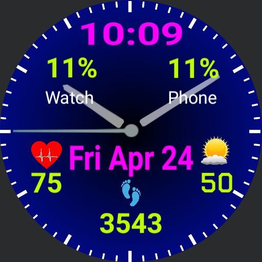 GSP Bluepalm Watch