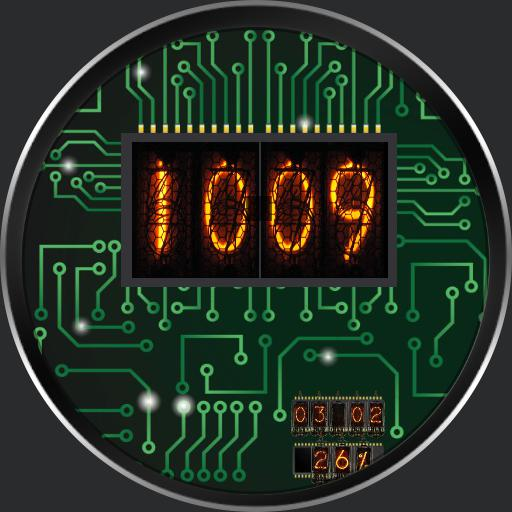 circuit with lights