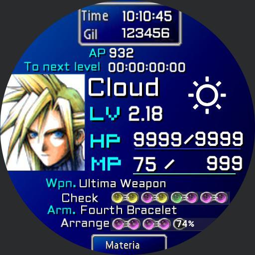 Final Fantasy 7 FF7 Cloud Copy