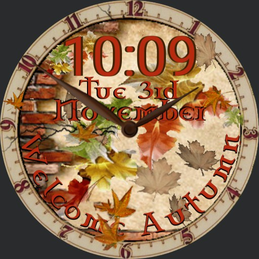 Welcome Autumn Fall for Jesus AOD