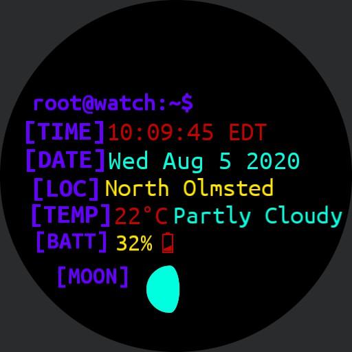 Linux Watchface Copy