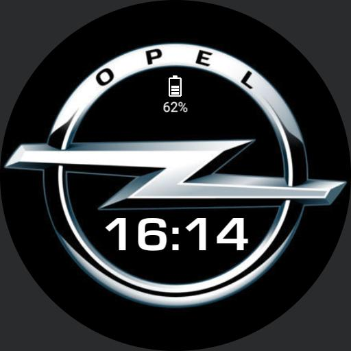 Opel logo watch