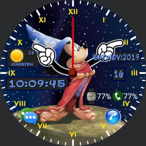 Mickey Watch -Wizardhat