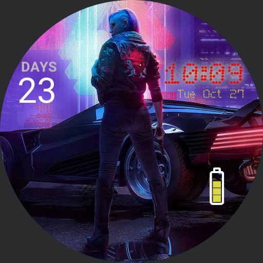 cyberpunk countdown