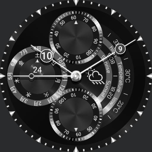 Steel Chronograph by Noticed