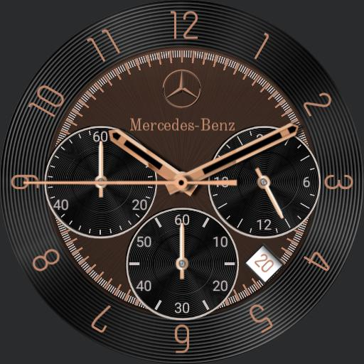 Mercedes-Benz Chronograph Copper