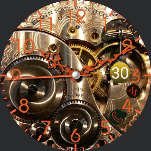Mechanical clock