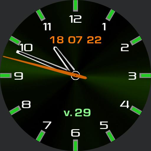 Chronograph Green