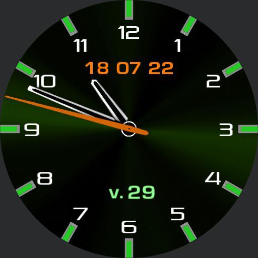 Chronograph Green