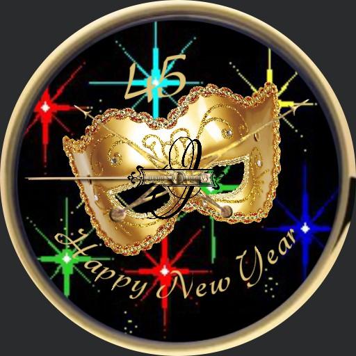 Happy New Year Maske Animation  Copy