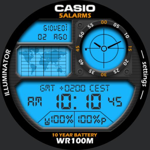 Casyo WR100M by 7mod