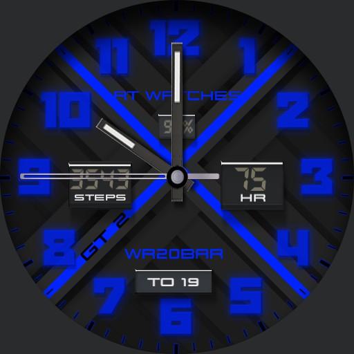 RT Watch GT 2 Blue