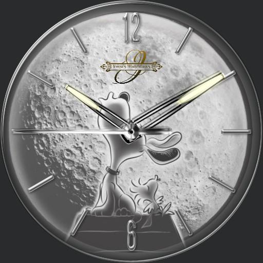 Snoopy Moon 3fach Dim Tageszeit