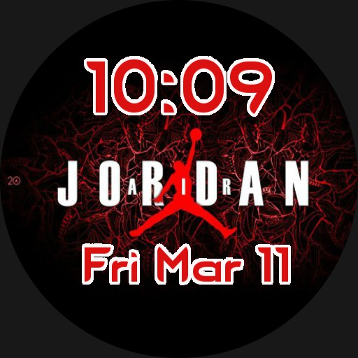 Jordan red