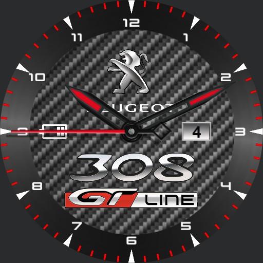 peugeot 308 GT Line carbon ring