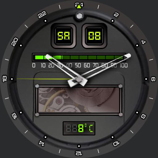 mechanic or digital sport watch