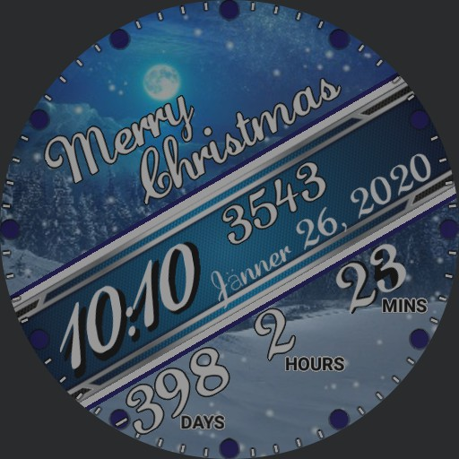 _christmas countdown by gaugaugexi