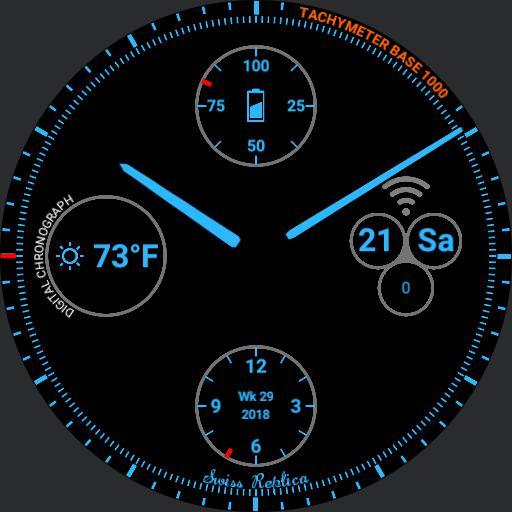 Tritium 2.0 Blue