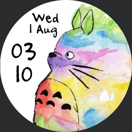 Rainbow Totoro