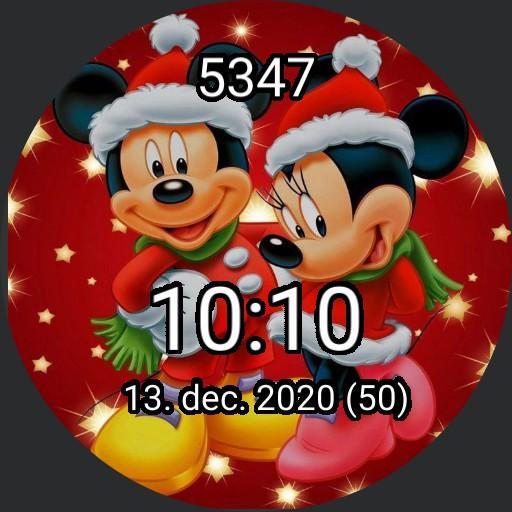 Mickey  Minnies Christmas By SM  Copy