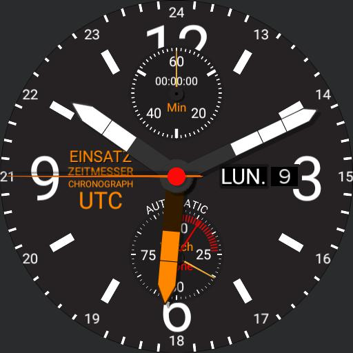 Mission Timer Chronograph UTC 2.0
