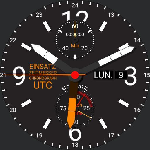 Mission Timer Chronograph UTC 2.0