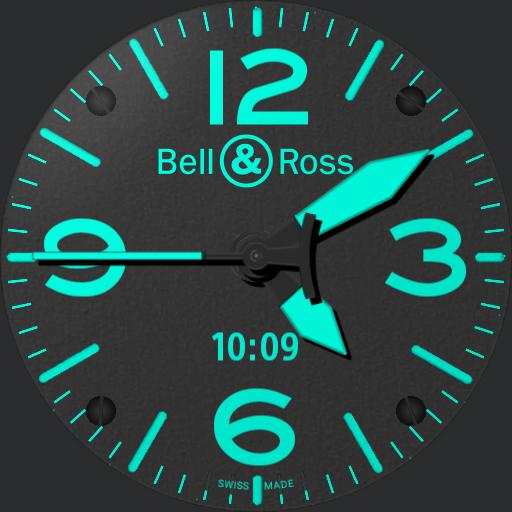 BR -  03 Blue dual time zone
