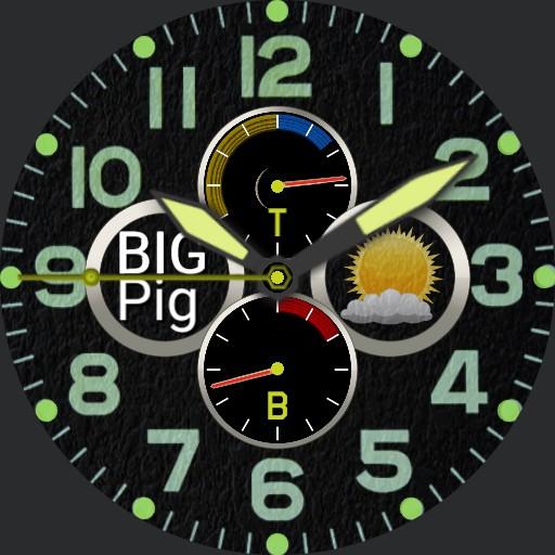 BIG Pig - Military style chrono
