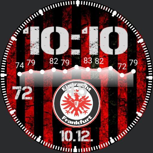 Eintracht Frankfurt SGE mit Puls Klembusch Copy