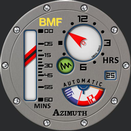 Azimuth Mecha-1 BMF Gauge Steel