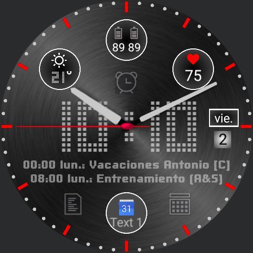 Ticwatch ARGR Negro