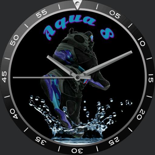 jordan aqua 8