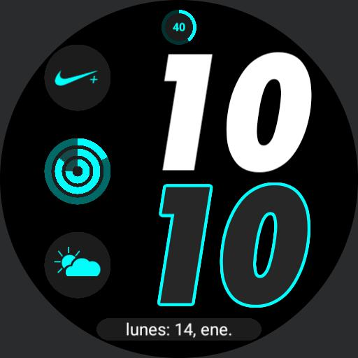 Nike Apple watch digital 2 by geeceejay