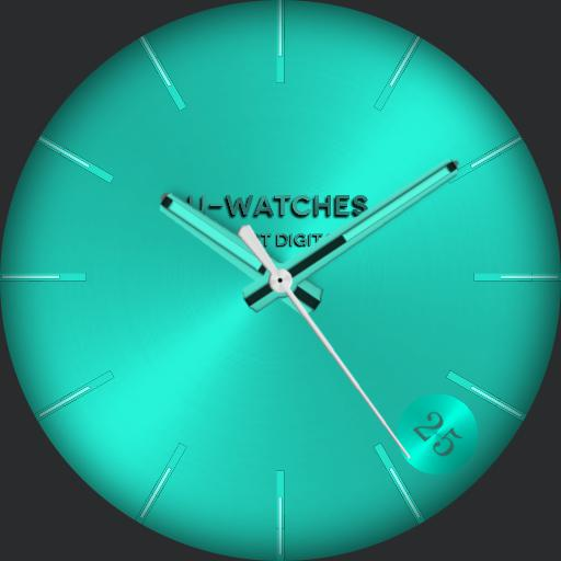 U-watches teal