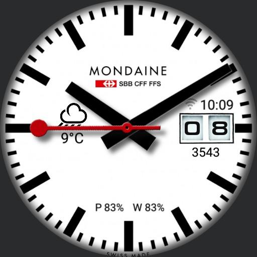 Mondaine Tribute